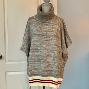 NWT Fashion by Mirabeau Gray Knit Pullover Sweater